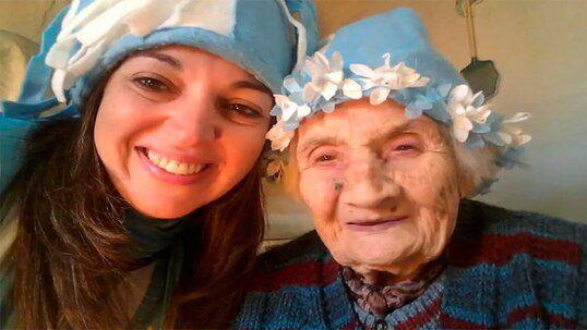 Argentina: La 96 de ani  lupta impotriva COVID 19